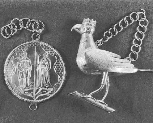 Patroonsplaat en Koningsvogel