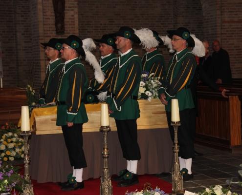 Begrafenis kerk