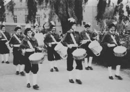 Drumband vroeger