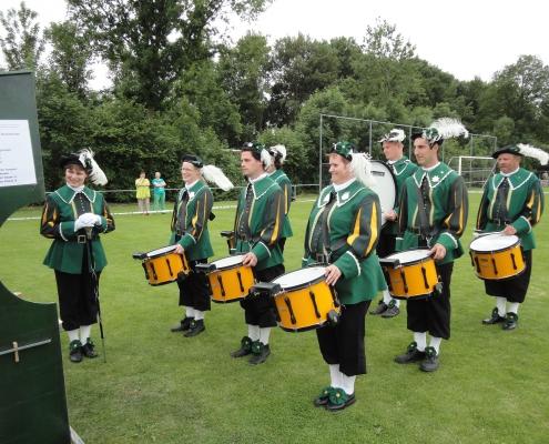 Drumband wedstrijd