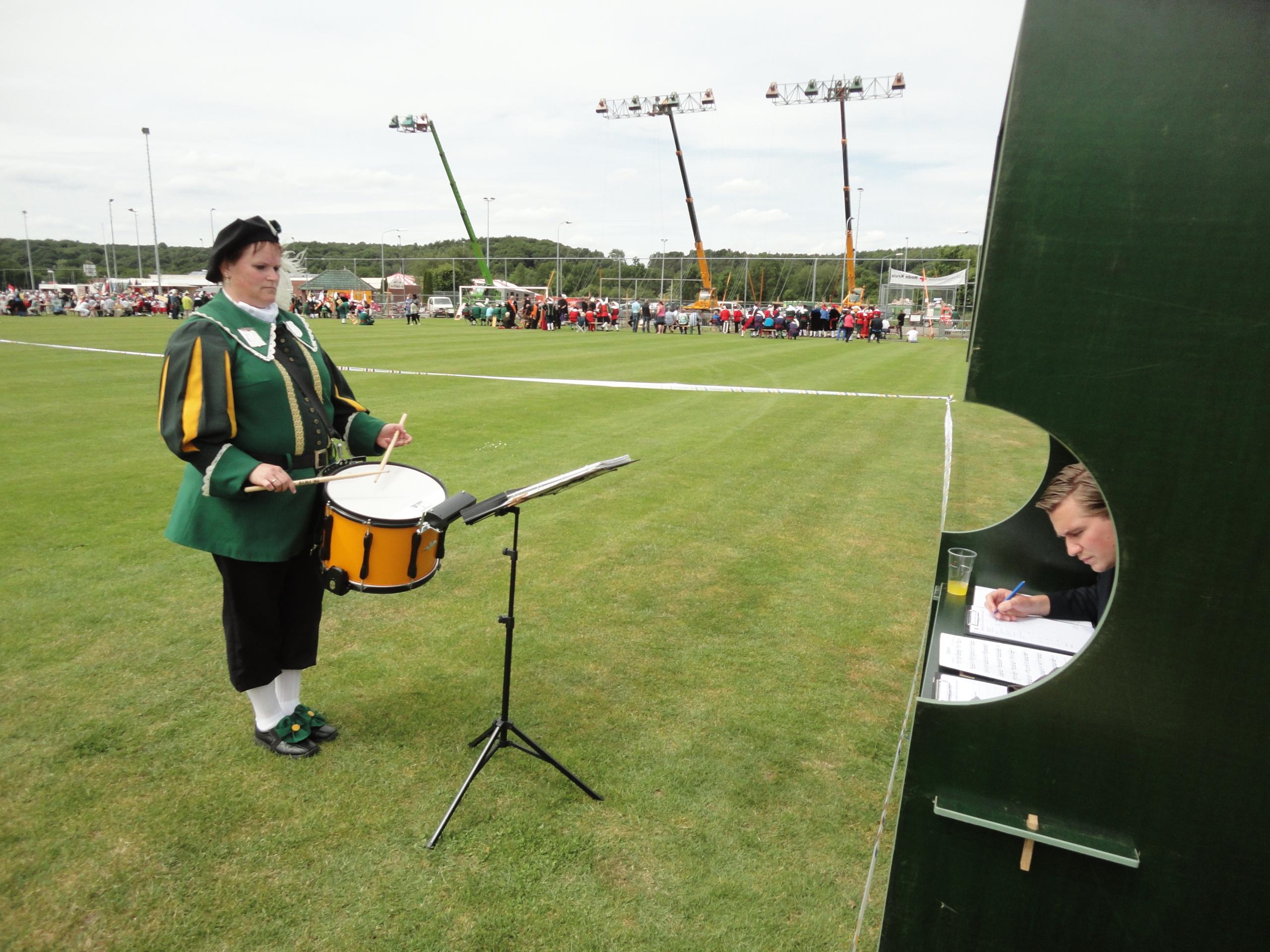 Drumband wedstrijd individueel