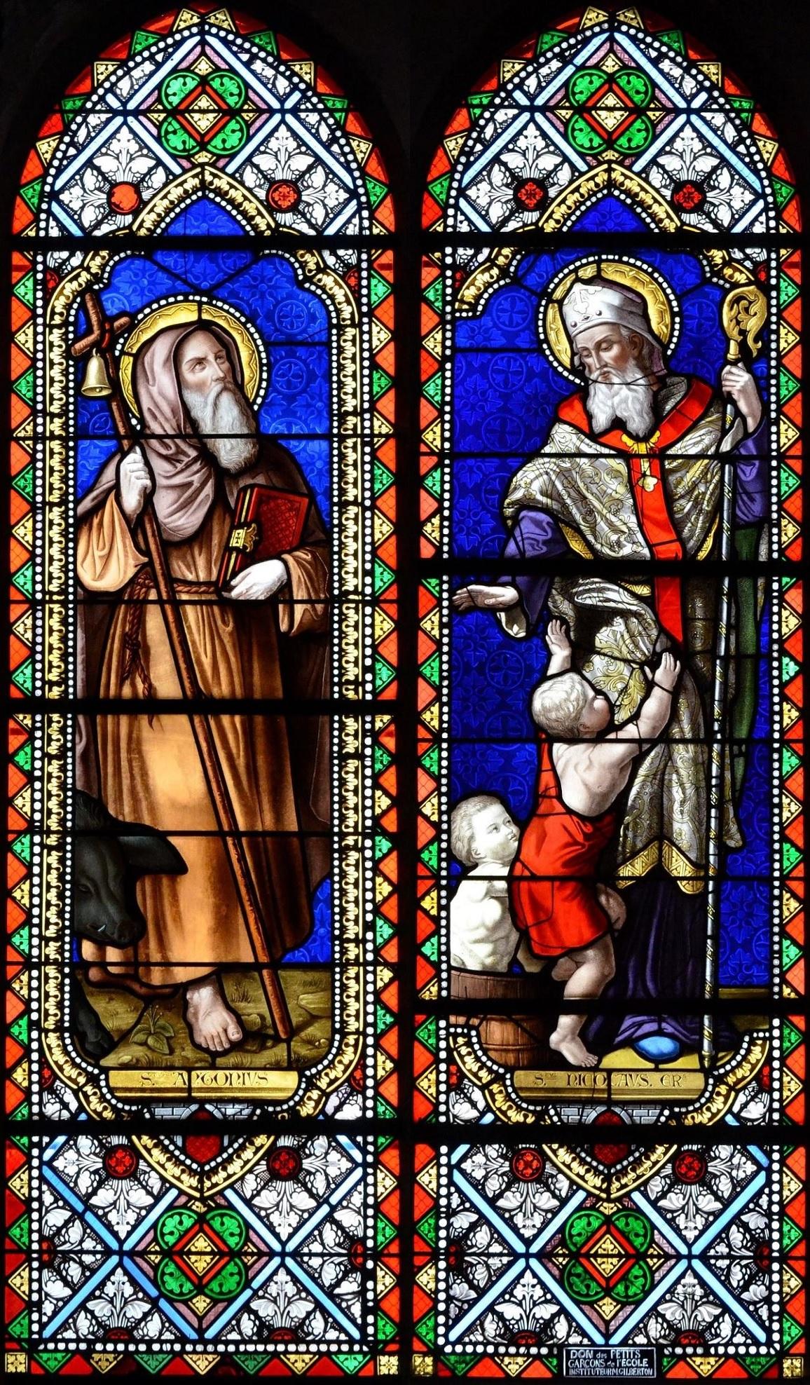 Patroonheiligen St. Anthonius Abt. en St. Nicolaas